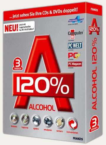 Alcohol 120% v1.9.8.7612 [Suporte ao Windows 7]